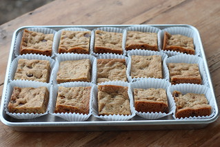 Blondies from NY Times | by Food Librarian