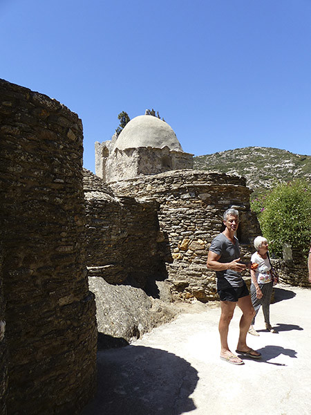 visite de l'église de Drosiani