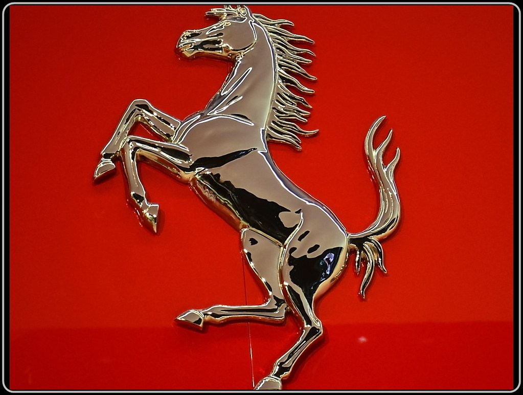Ferrari A Powerful Brand The Famous Prancing Horse Logo Flickr