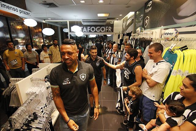 O CRÃDITO DA FOTO Ã OBRIGATÃRIO: VÃ-tor Silva/SSPress/Botafogo