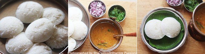 How to make Sambar Idli Recipe - Step2