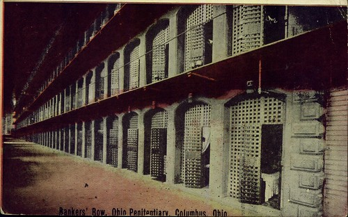Bankers' Row at Ohio Penitentiary | by Miami U. Libraries - Digital Collections