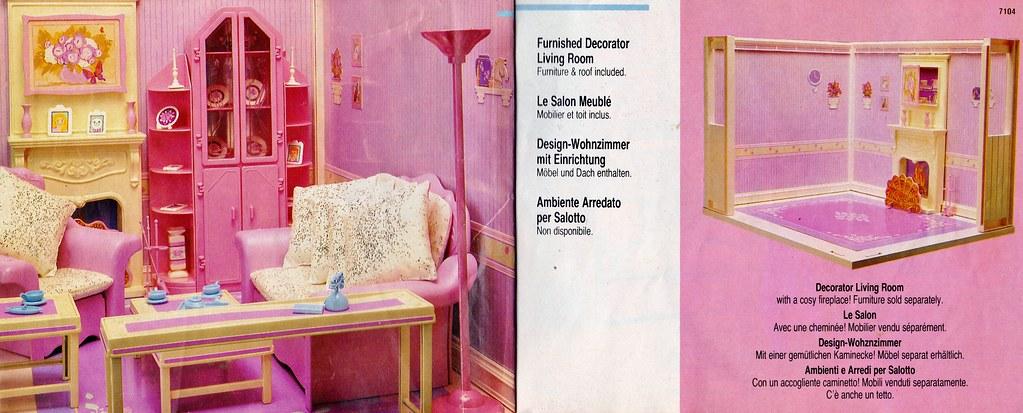 1987 Living Pretty Barbie Furnished Decorator Living Room … | Flickr