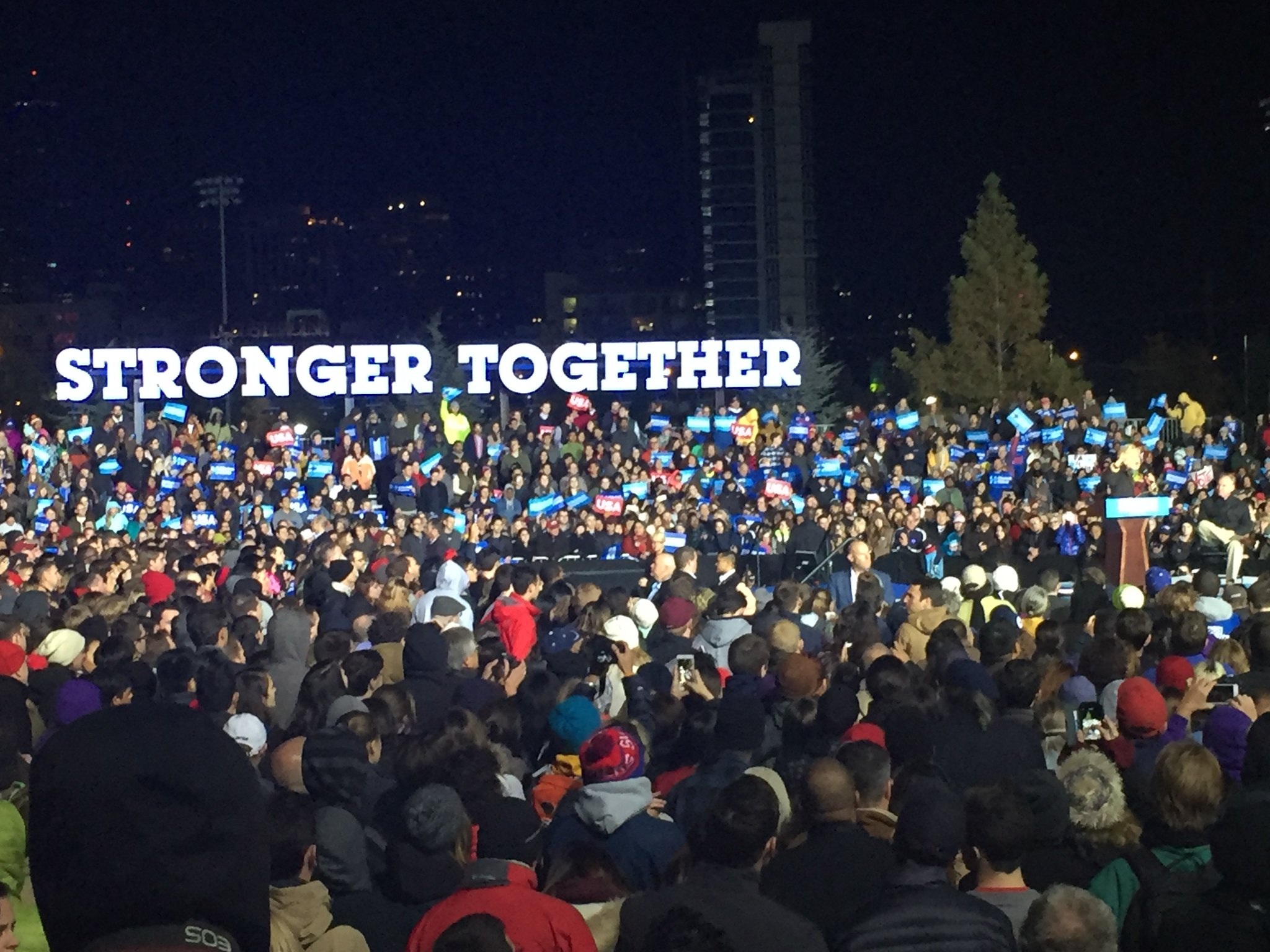 "Clinton-Kaine in Philadelphia: Rallying ""for a better America"""