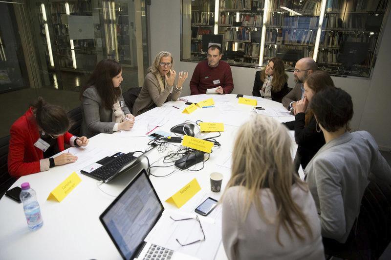 Reportage photos de la journée du 7 novembre « Toutes femmes, toutes communicantes » (TFTC)