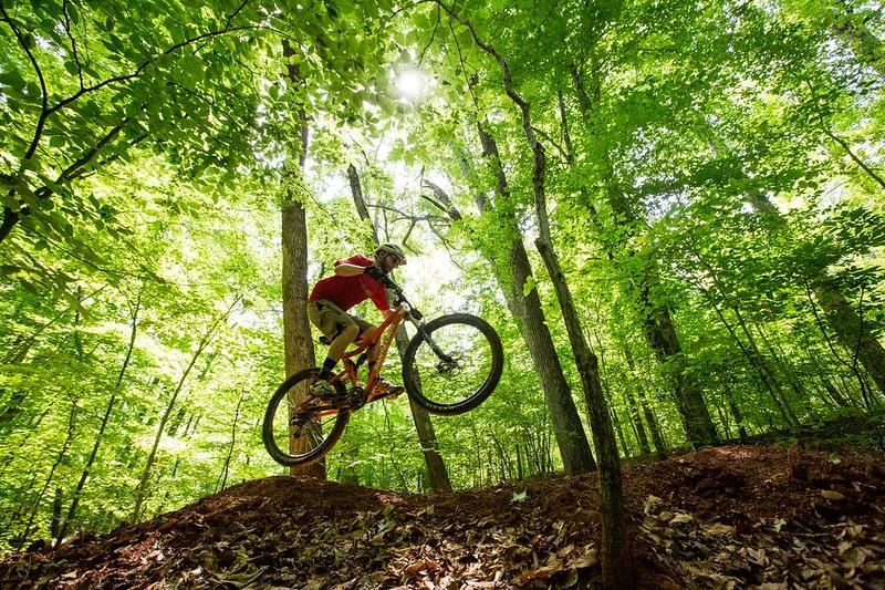 BLM Mountain Biking: Meadowood Trail System in Virginia