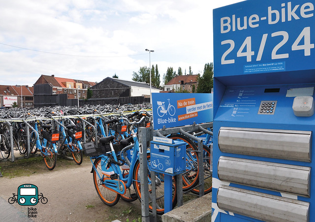 Gent St-Pieters - Blue Bike