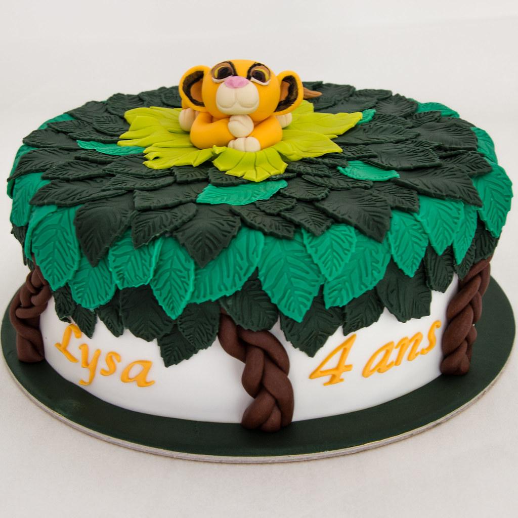 Gateau Roi Lion Simba Cake Design Delices Marion Les Delices De