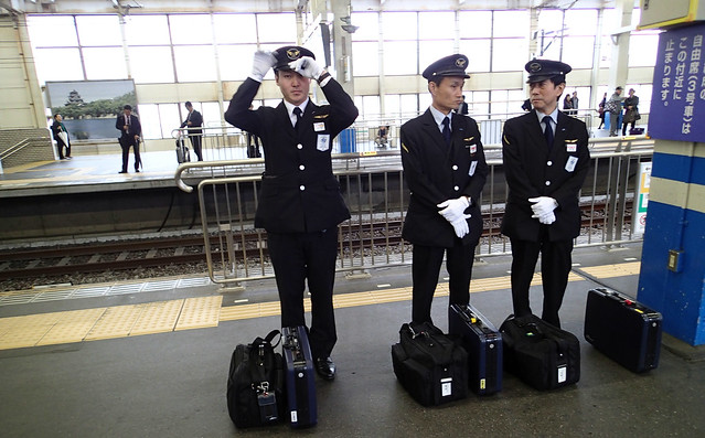 JR Central Japan train crew professional uniform #2