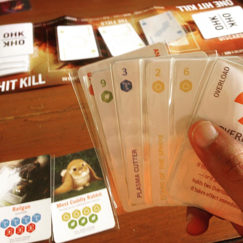 Playing #onehitkill @onehitkillgame on our holiday trip #c… | Flickr
