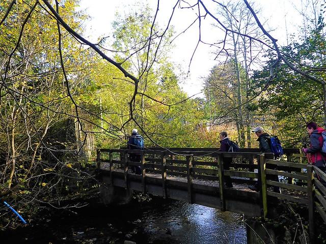 Crossing Blane Water