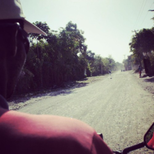 On the back of a Moto in #Haiti. #travel #traveling #photography #tourist #latergram #wanderlust | by Jennifer A James