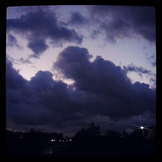 It's going to be a dark and stormy night, for #365days project, 274/365