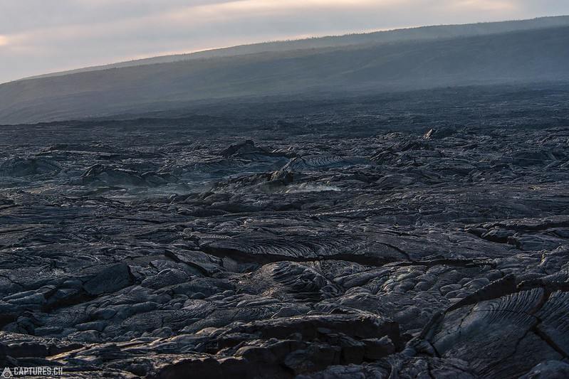 Lava field - Big Island