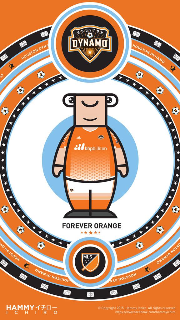 finest selection 8d504 42881 Houston Dynamo (Home jersey) | Hammy in Houston Dynamo's Hom ...