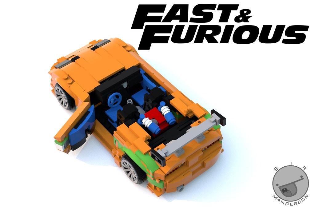 Fast And Furious Toyota Supra Interior