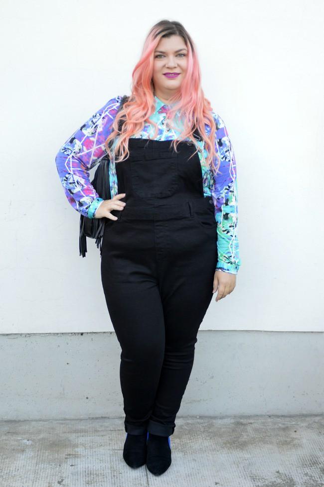 Outfit plus size salopette  (12)