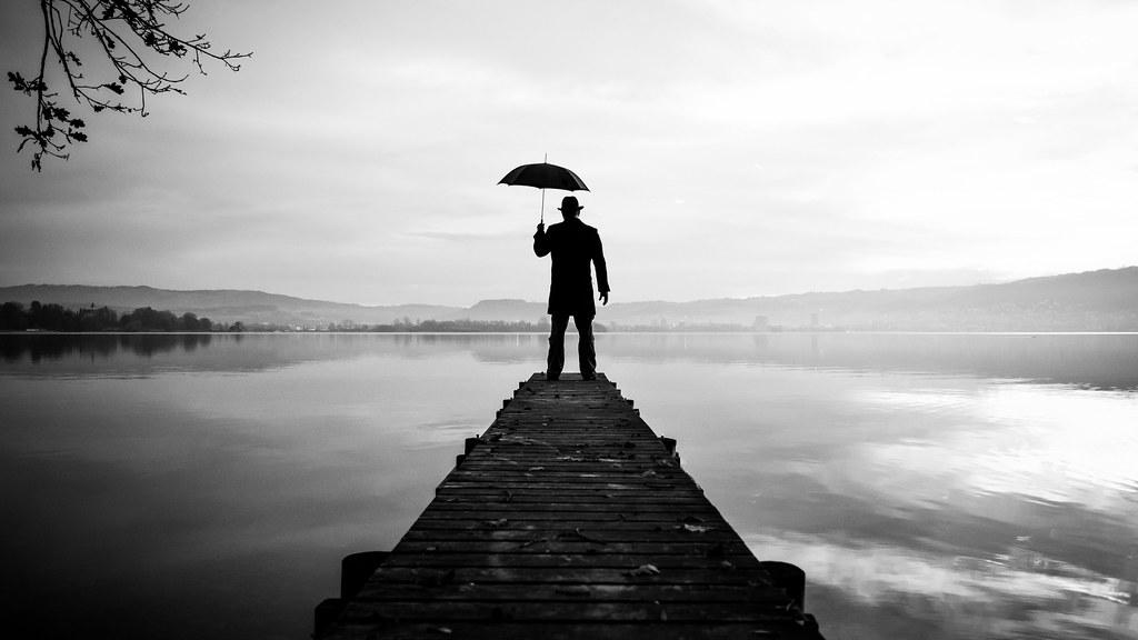 the umbrella man 01 a selfie project thomas leuthard flickr