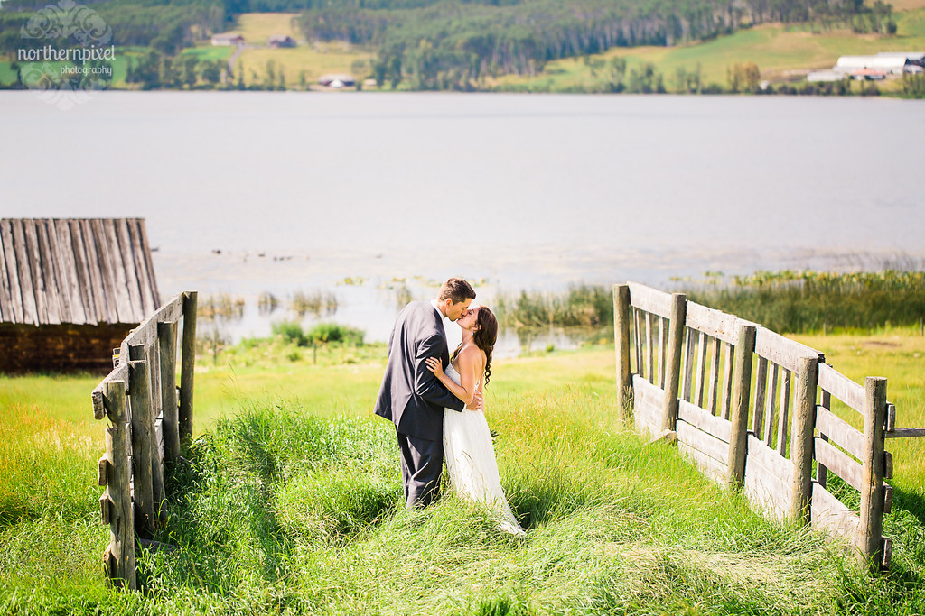 Farm Wedding - Smithers British Columbia