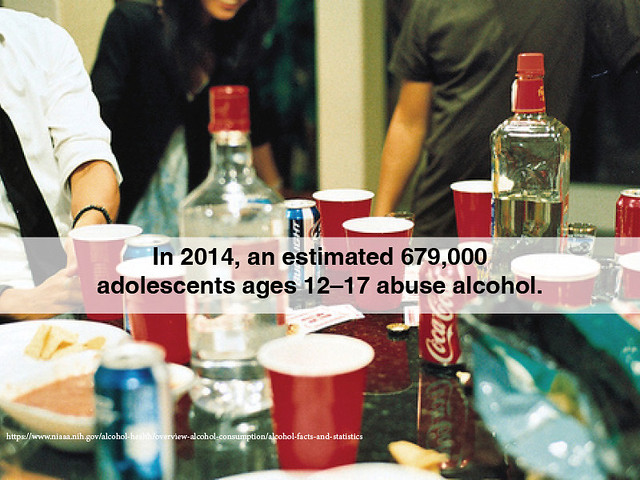 teens abuse alcohol