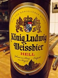 König Ludwig, Weissbier Hell, Germany