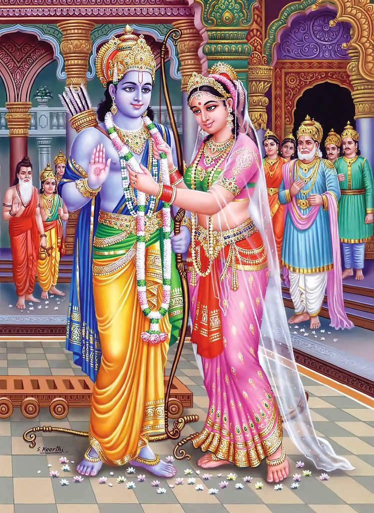 rama and sita Rama's forsaking sita is the ramayana's most challenged and most challenging  incident a man's abandoning his pregnant wife because of an.
