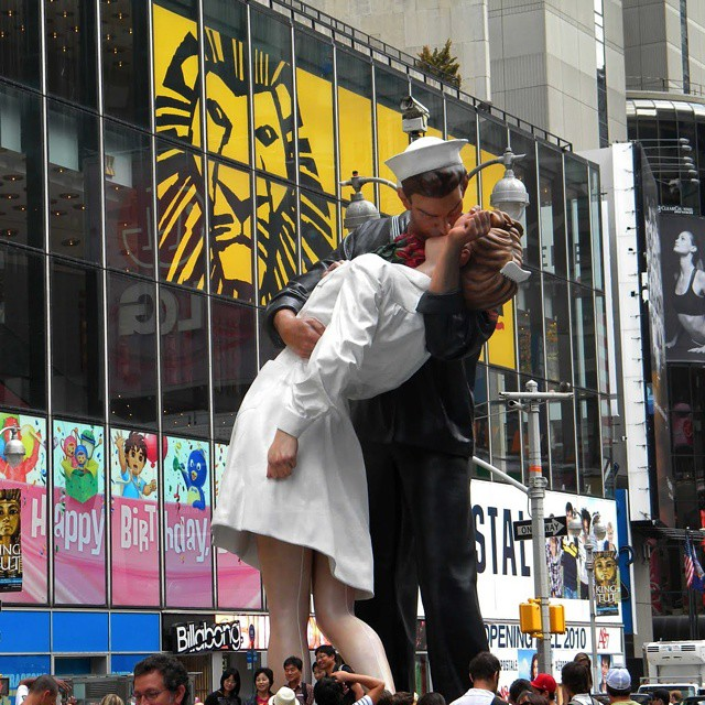 kiss times square Alfred eisenstaedt