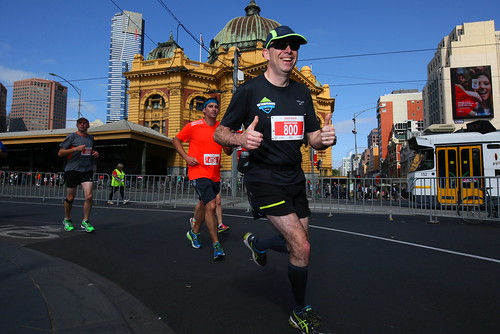 41km: Back on Flinders St. I know I'm going to finish! | by Johnsyweb