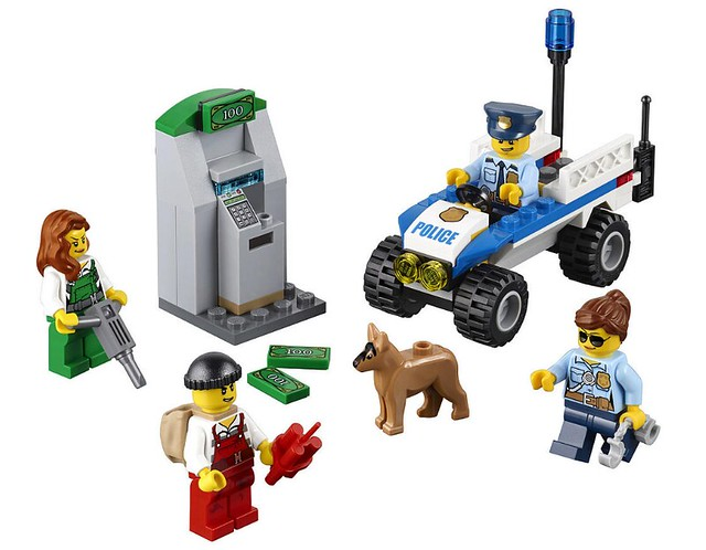 LEGO City 60136 - Police Starter Set