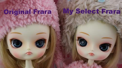 Original versus My Select Frara