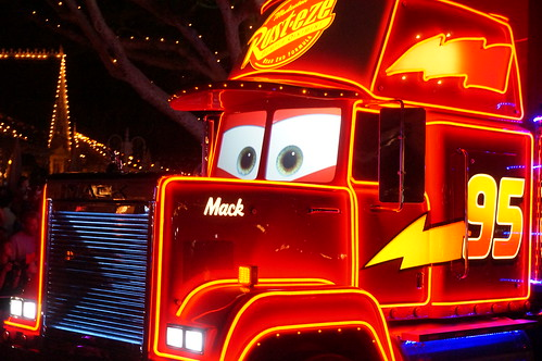 Mack in the Paint the Night Parade | by Disney, Indiana