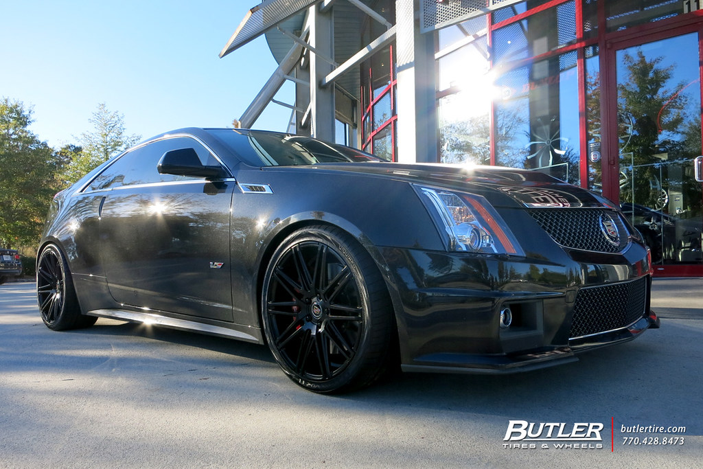 Cadillac Cts V With 20in Xo Milan Wheels And Michelin Supe Flickr
