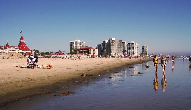 Coronado Beach, San Diego, CA, USA