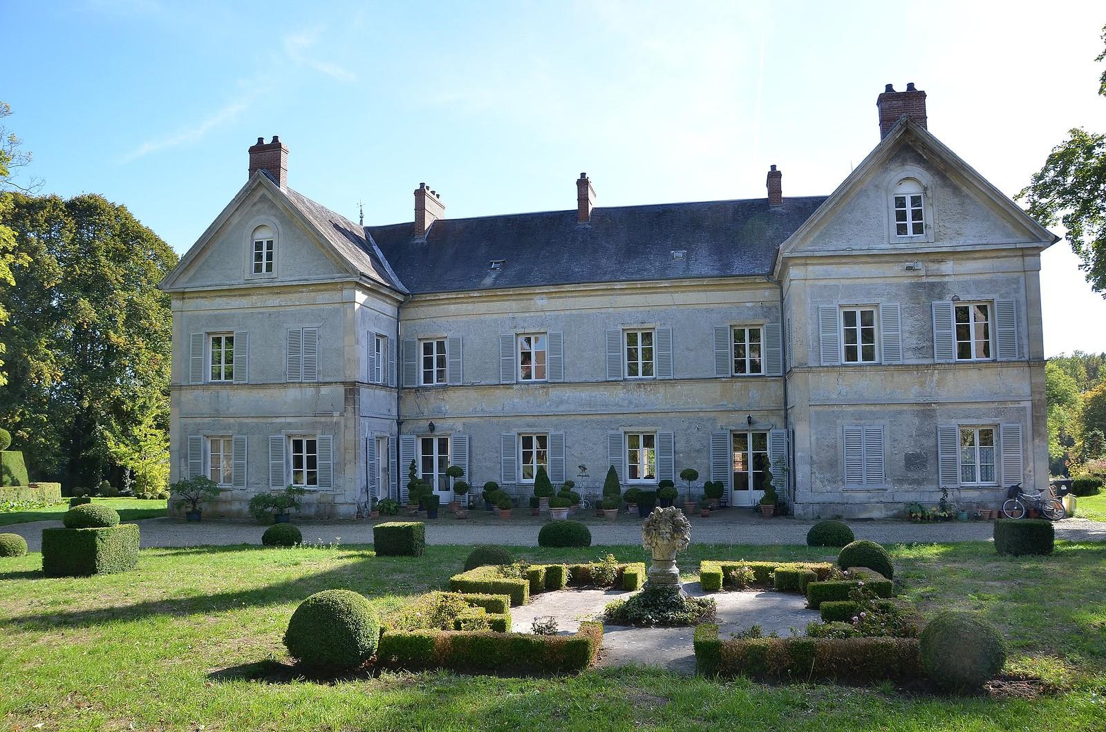 Borest (Oise) - Parc et jardin de Saint-Vincent