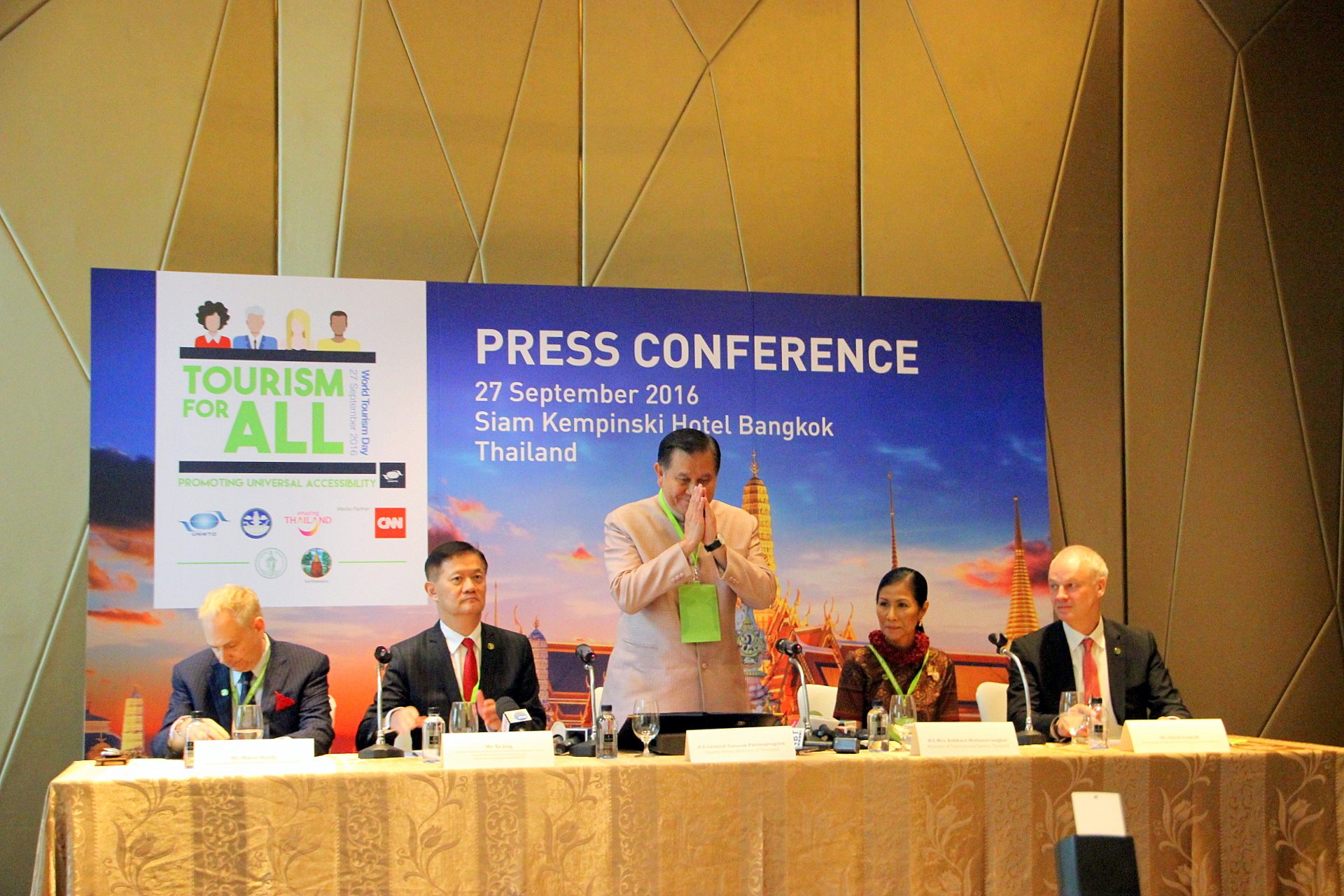 World Tourism Day 2016 press conference