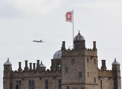 Vulcan XH558 over Bolsover Castle | by brendan.oliver97