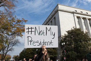 DCPS Walkout, Independence Ave, Not My President | by Lorie Shaull
