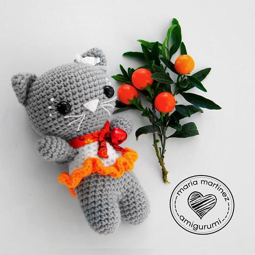 Maria Martinez Amigurumi: Gatita Small cat, FREE pattern ...