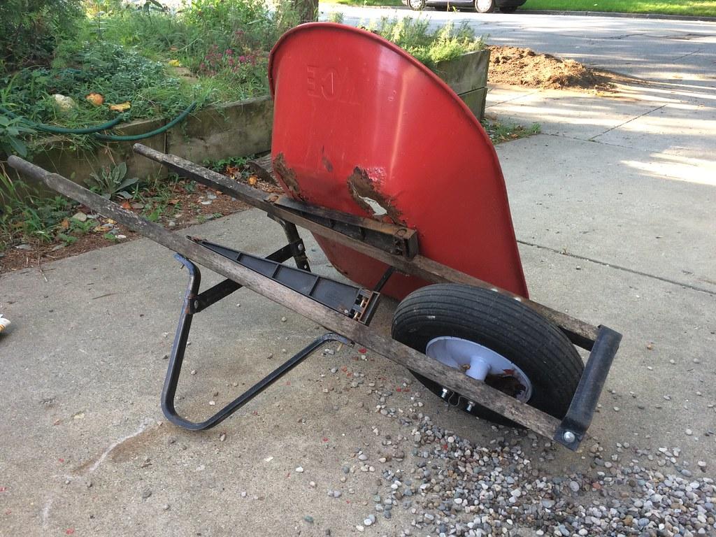 Image result for broken wheelbarrow