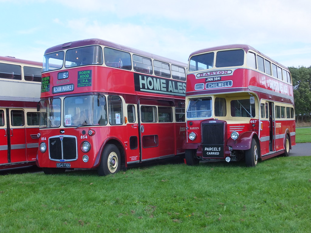 ... Barton 467 854 Donington Showbus | by Guy Arab UF