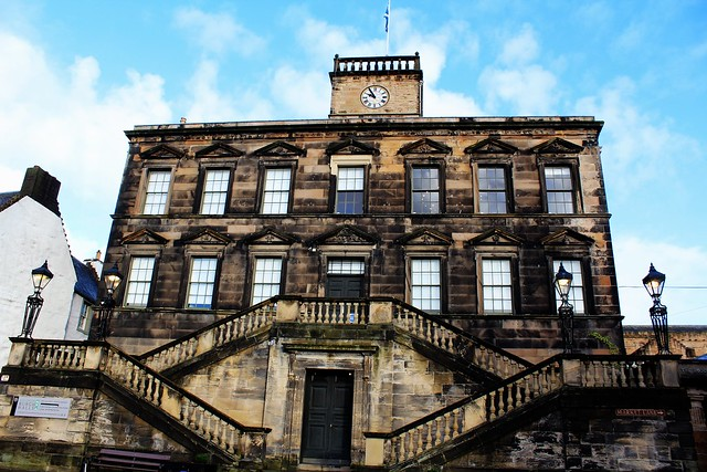 Burgh Hall, Linlithgow, Scotland.
