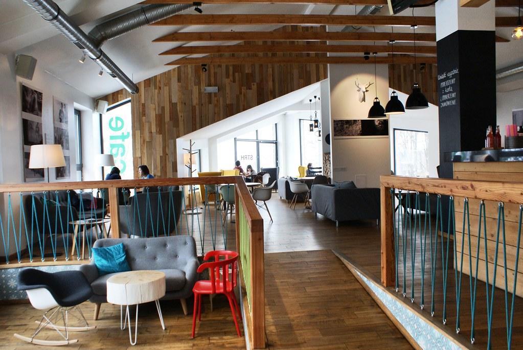Café STRH à Zakopane : La confort, la vue et de bons cafés.