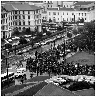Māori Land March - October 13 1975, Parliament, Wellington | by Archives New Zealand