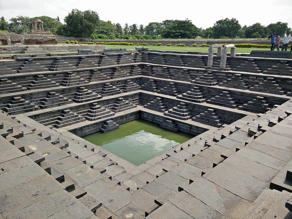 Stepwell at Hampi, Karnataka
