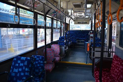 気仙沼BRT:車内