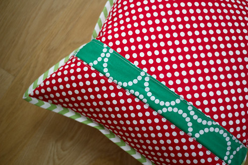 Christmas Joy pillow | by frommartawithlove