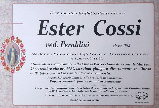 Cossi Ester