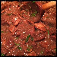 #beef and  #mushrooms #homemade #CucinaDelloZio -