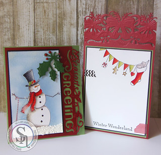 Christmas Snowman | by rather_be_stamping