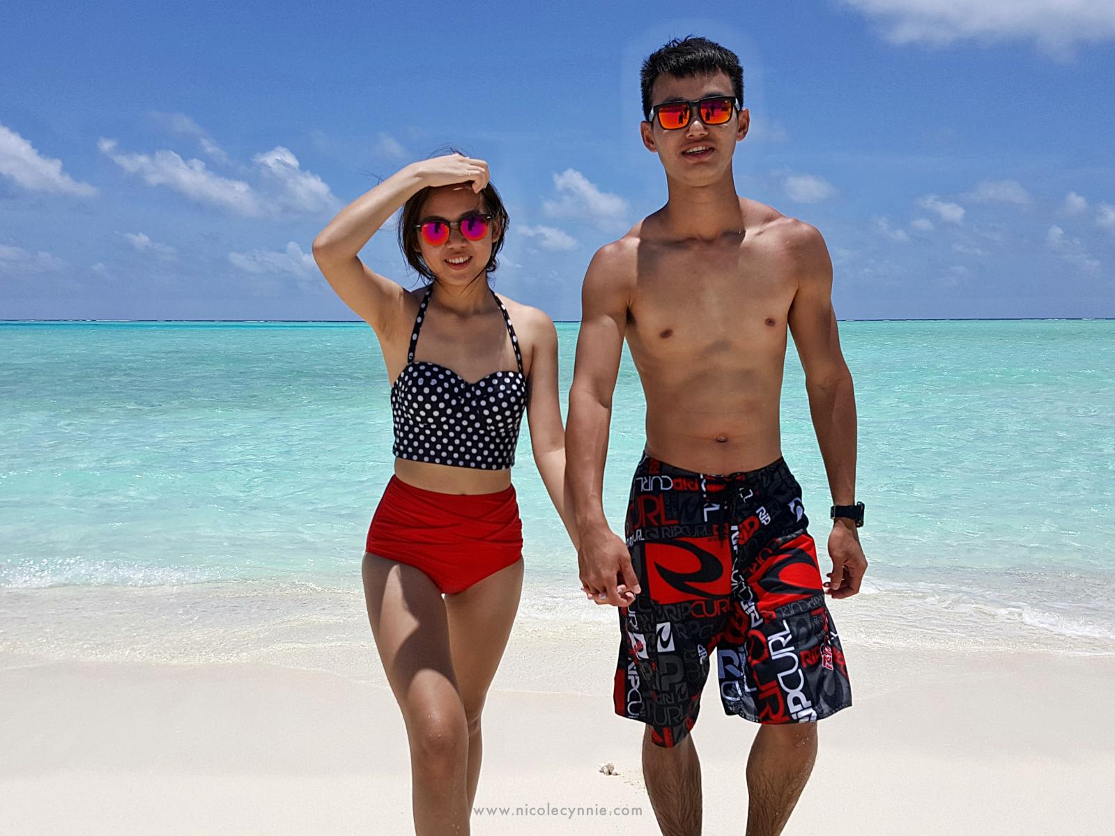 Nicole Cynnie | Sand Bank, Maldives 4